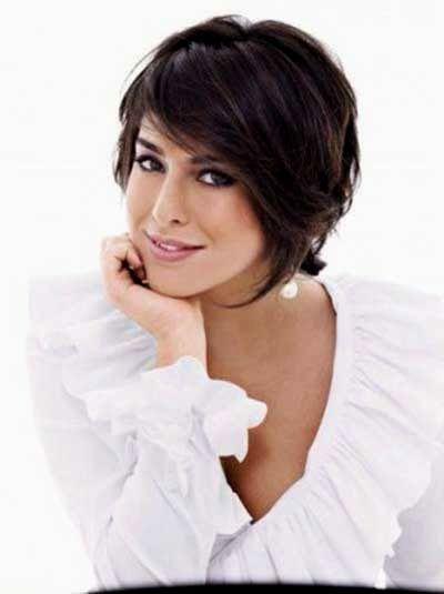 beautiful corte de cabelo feminino curto com franja layout-New Corte De Cabelo Feminino Curto Com Franja Imagem