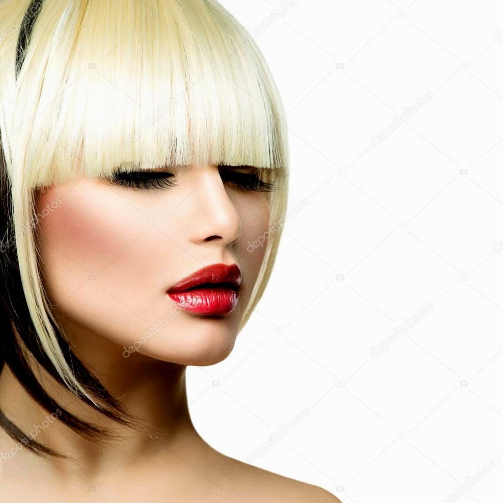 beautiful cortes de cabelo da moda fotografia-Top Cortes De Cabelo Da Moda Imagem