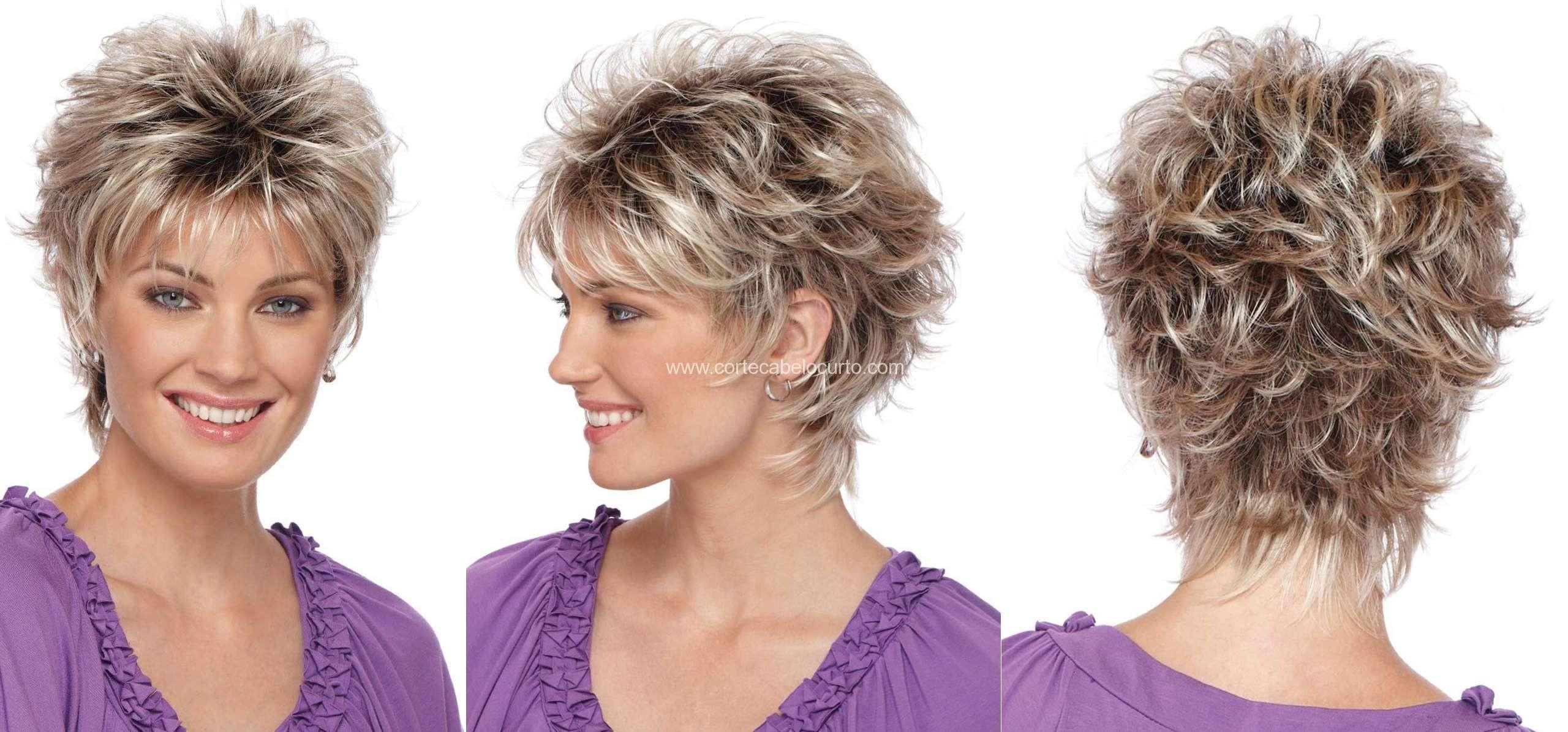 Preferência cortes bem curtos para cabelos ondulados e volumosos – Cortes De  UZ21