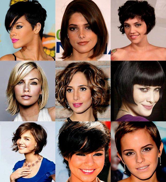fresh corte de cabelo curto moderno feminino imagem-Lovely Corte De Cabelo Curto Moderno Feminino Retrato