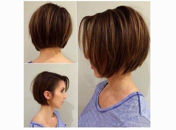 lovely cortes curtos para cabelo liso imagem-Lovely Cortes Curtos Para Cabelo Liso Ideias