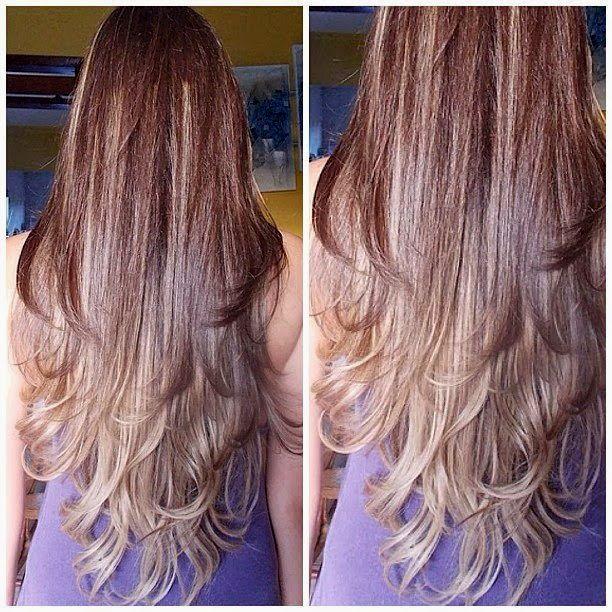 lovely cortes de cabelo longo feminino inspiração-Legal Cortes De Cabelo Longo Feminino Imagem