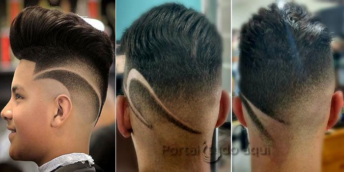 melhor como fazer corte de cabelo masculino design-New Como Fazer Corte De Cabelo Masculino Inspiração