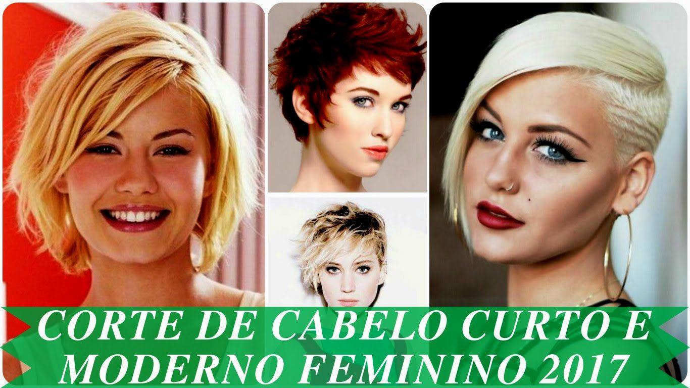 melhor corte de cabelo curto moderno feminino modelo-Lovely Corte De Cabelo Curto Moderno Feminino Retrato