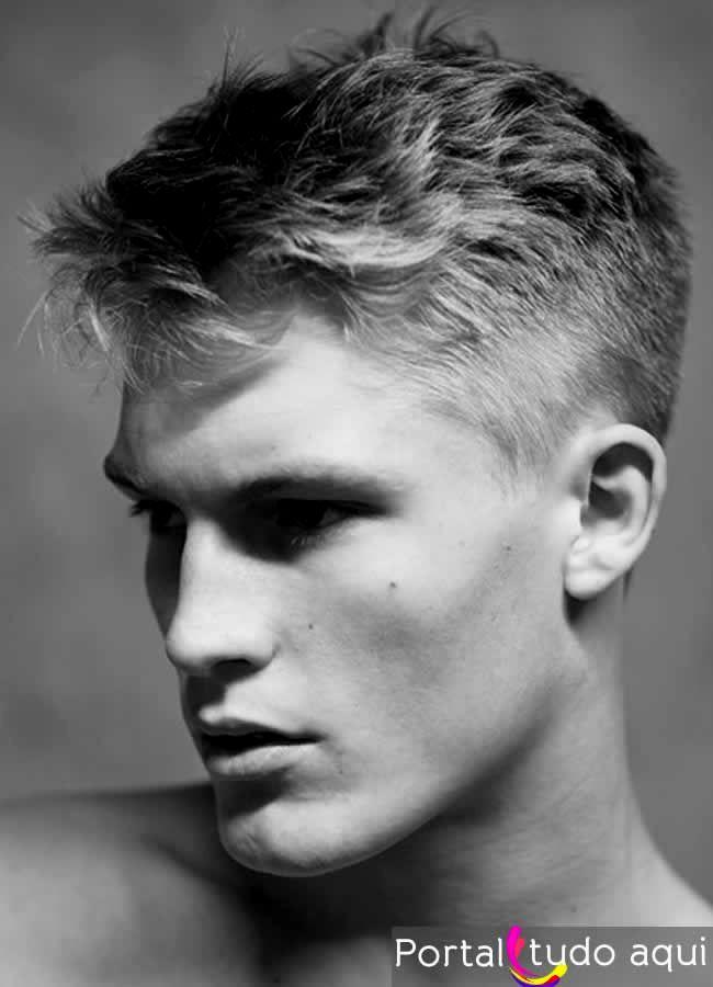 melhor cortes masculinos em alta retrato-Top Cortes Masculinos Em Alta Design