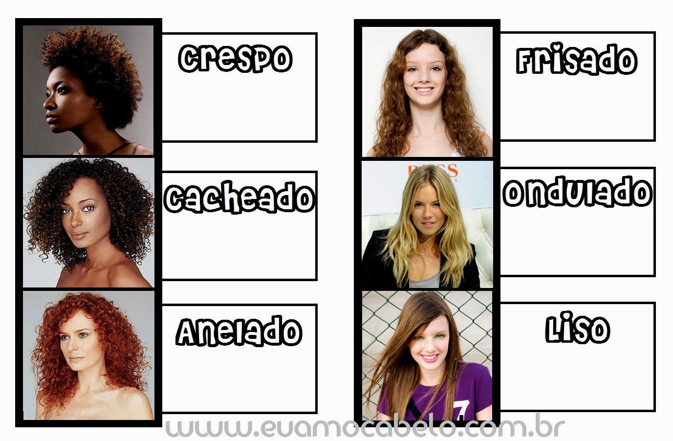 melhor tipos de cabelo feminino galeria-Fresh Tipos De Cabelo Feminino Layout