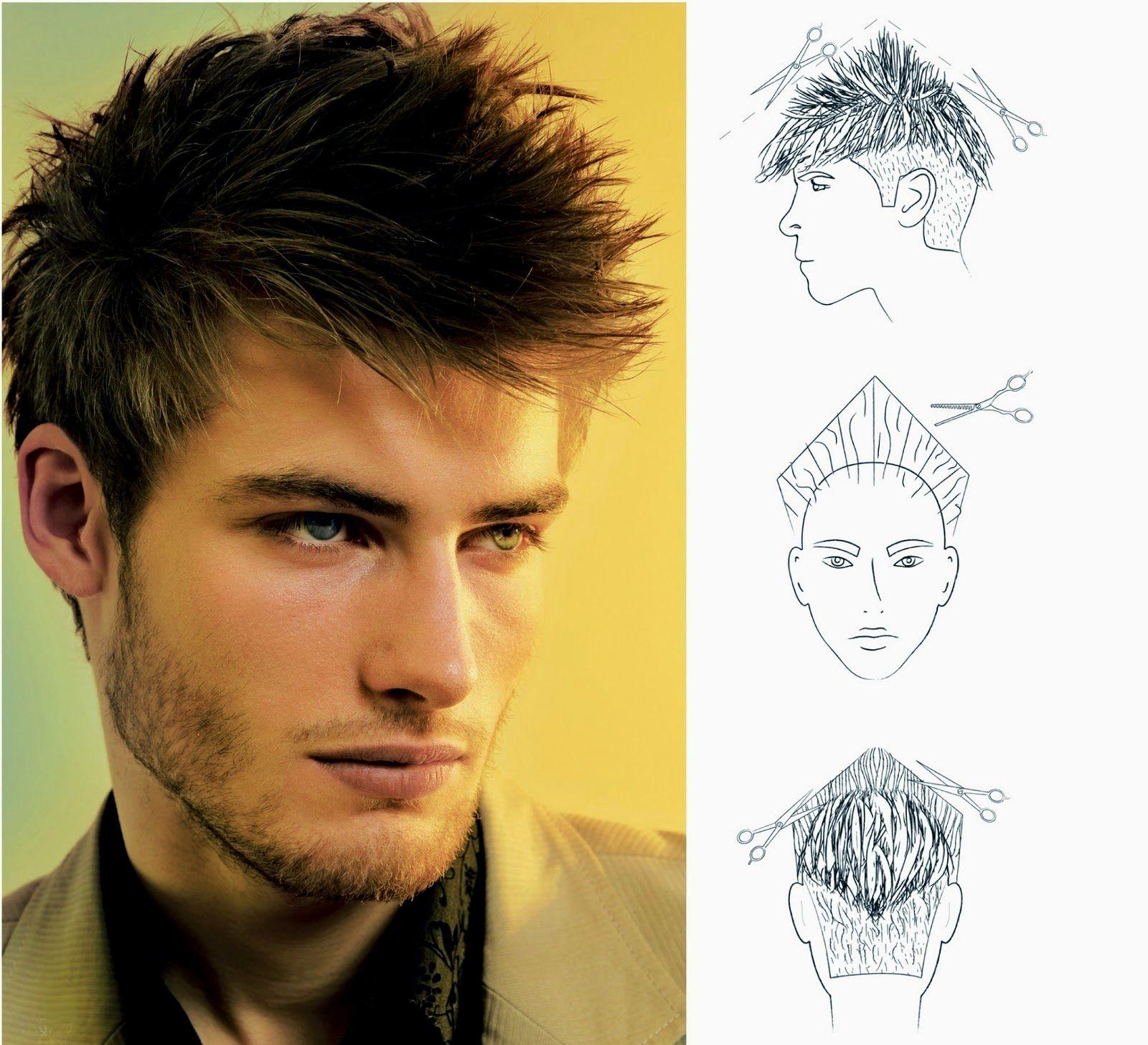 Ótimo modelo corte cabelo masculino inspiração-Fresh Modelo Corte Cabelo Masculino Imagem