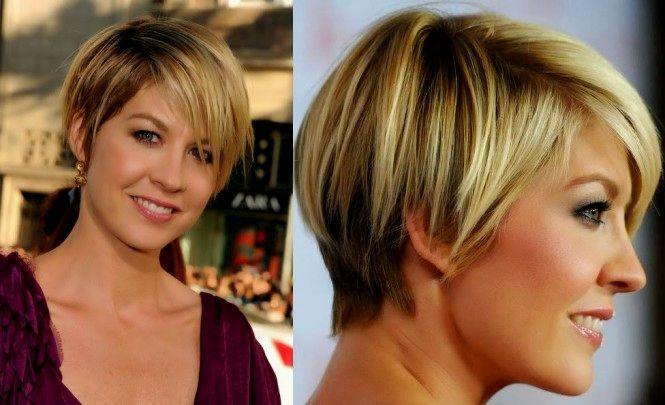 Ótimo modelo corte de cabelo curto retrato-Lovely Modelo Corte De Cabelo Curto Retrato