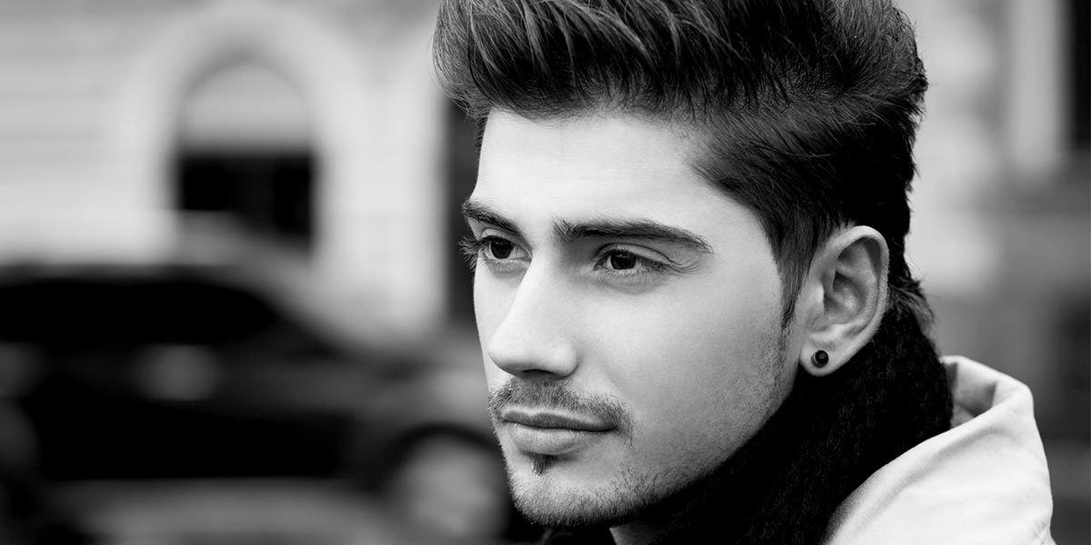 top corte de cabelo bonito masculino inspiração-New Corte De Cabelo Bonito Masculino Coleção Padrão