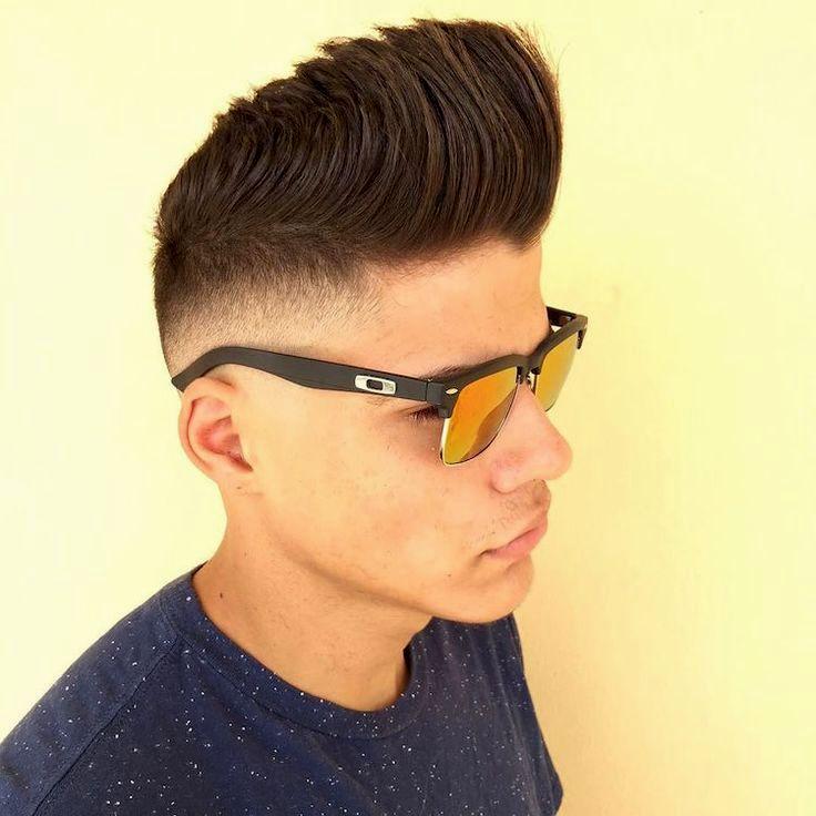 unique corte de cabelo masculino moderno retrato-Ótimo Corte De Cabelo Masculino Moderno Inspiração