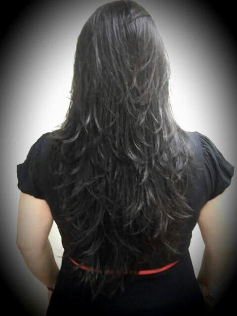 unique corte feminino cabelo longo ideias-Ótimo Corte Feminino Cabelo Longo Imagem
