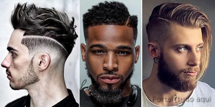 unique cortes modernos masculinos 2017 inspiração-New Cortes Modernos Masculinos 2017 Fotografia