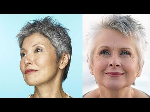 18 Easy Very Short Hair Styles + Pixie Haircuts Fine Hair for Older Women 13