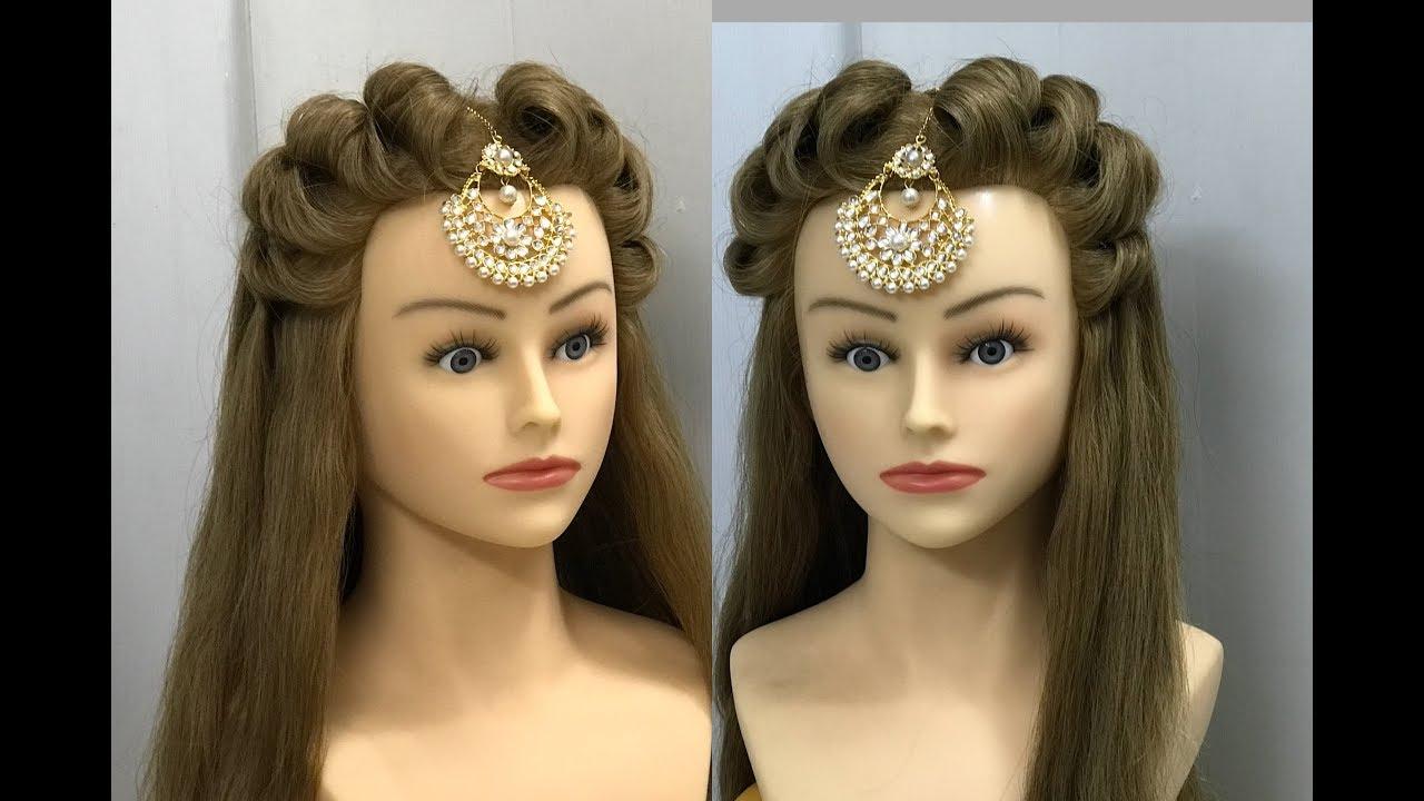 2 Beautiful Hairstyles : Easy Wedding Hairstyles 12
