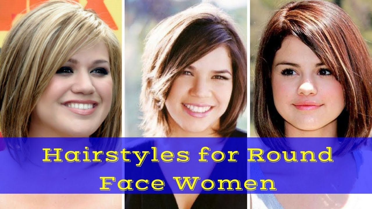 2018 Hairstyles for Round Face Women - Haircuts for Chubby Face 12