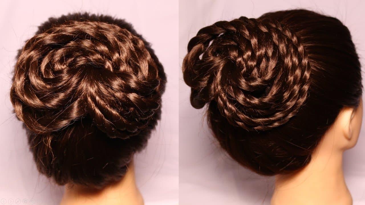 bun || juda hairstyle || short hairstyles ||  hairstyle || hairstyles 2018 || hair design 1