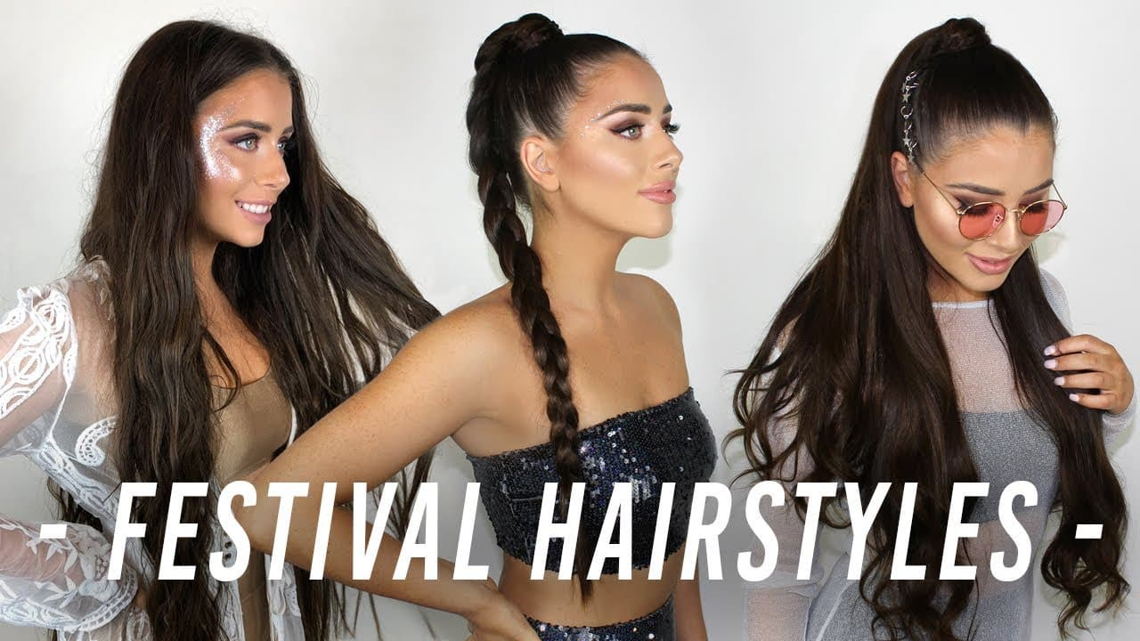 Festival Hairstyles 2018 | ZALA Hair Extensions 3
