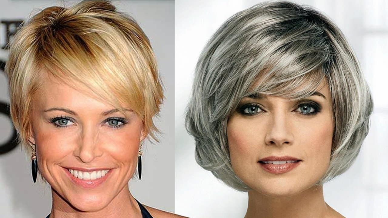 HAIR CUTS FOR WOMEN OVER 50 to 60 YEARS OLD | OLDER WOMEN'S HAIRCUT IDEAS 13