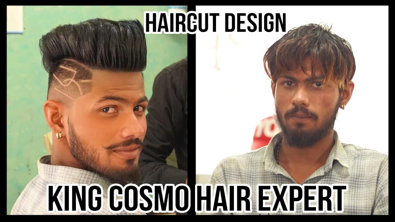 Haircut Designs And Ideas For Men 2018 | Haircut Tattoo Design For Men | King cosmo hair expert 13