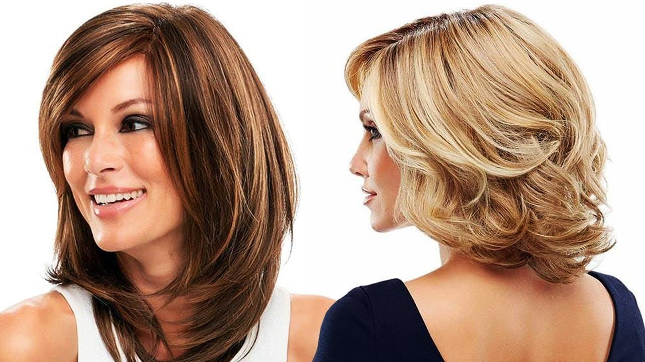 Medium Hairstyles For Older Women Haircuts For Women Over 50 With