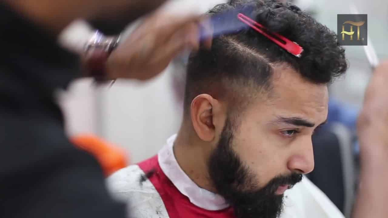 Men's Haircut and Beard Styling | Cool and Popular style 2018 I Jawed Habib 14