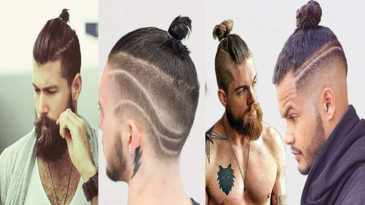 New Man Bun Hairstyles 2018 | Top Knot Hairstyles For Men 2018 | Long Hairstyles For men 1