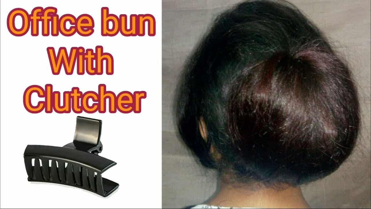 Office n College Hairstyle with Clutcher for Girls || Formal Hairstyle for girls | Stylopedia 3