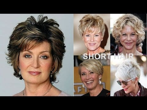 Short Haircuts for Older Women Over 50 to 60 | Pixie + Bob Hair 2018 14