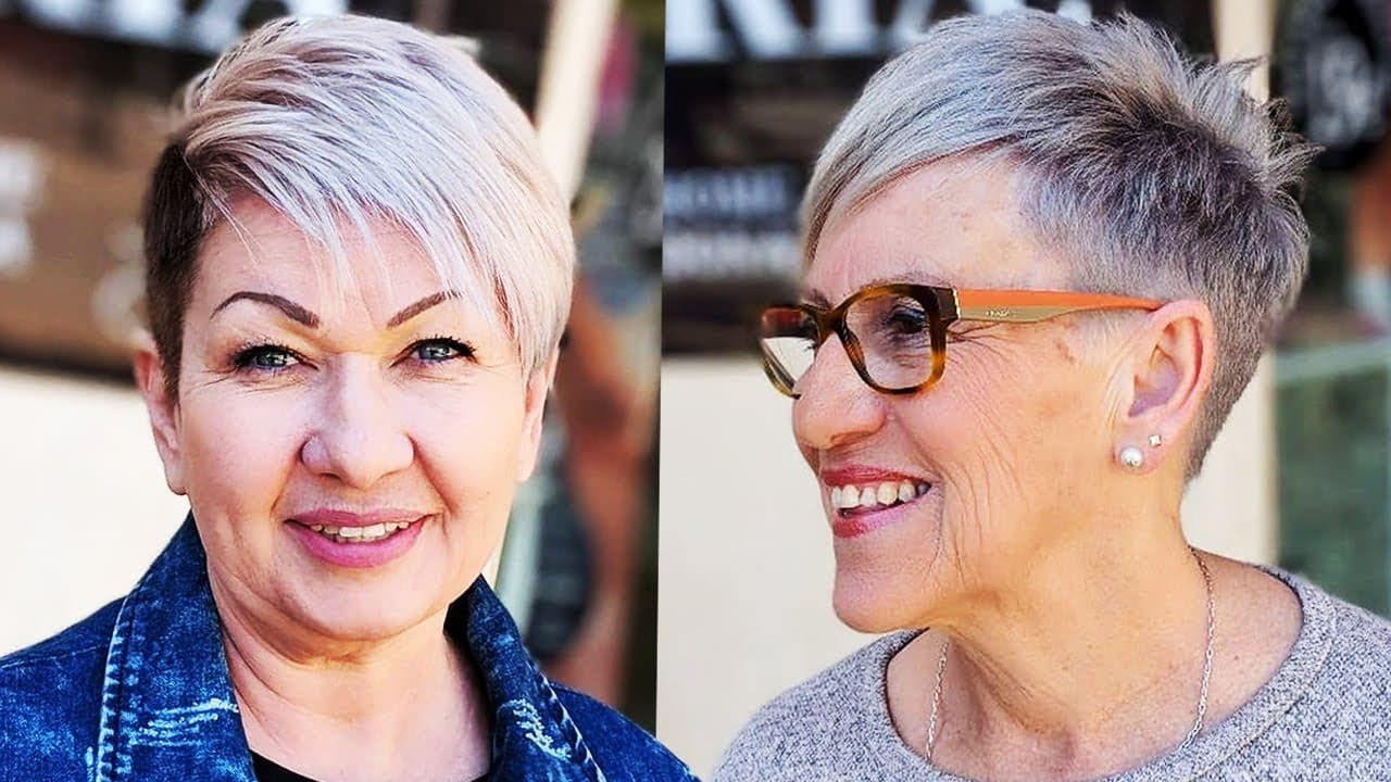 Short Haircuts for Women Over 50 for 2018 - Hairstyles for Short Hair Older Women 2