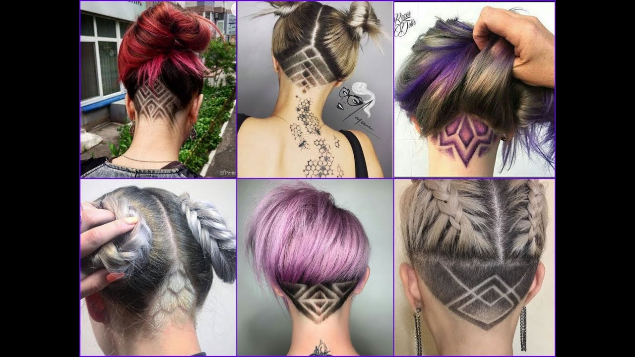 Top 35 Best Nape Undercut Design Ideas 2018 - Nape Shave Haircut for Women 12