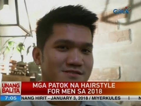 UB: Mga patok na hairstyle for men sa 2018 1