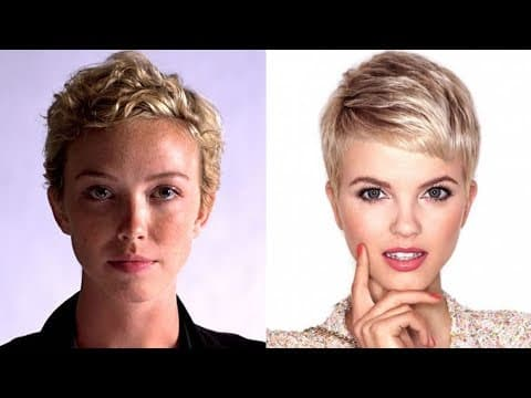 Very Short Hair Cut and Hair Colors for Classy Women 11
