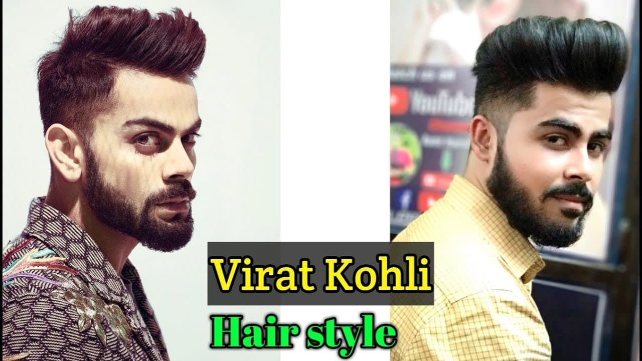 Virat Kohli Hairstyle - Inspired Haircut 2018 - Indian Men's Hairstyle - Virat Kohli Haircut .#78 1