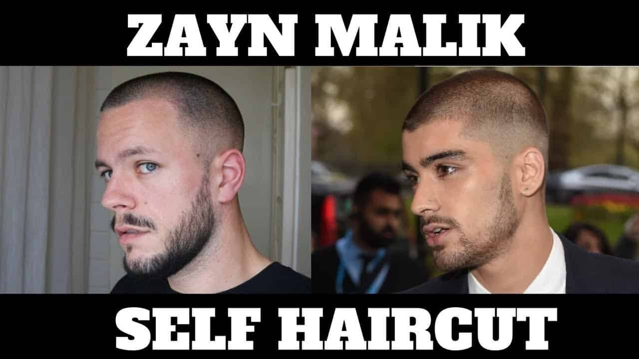 ZAYN MALIK BUZZ CUT HAIRSTYLE - Men's Hair Tutorial 5