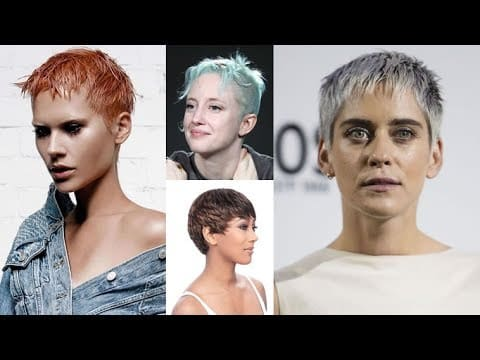2018 Pixie Hairstyles & Haircuts for Short Hair 14