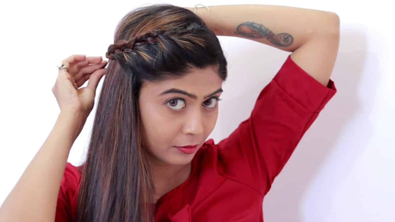 3 Easy Summer Hairstyle / Easy Hairstyle step by step tutorial 2018 /  RINKAL SONI 11