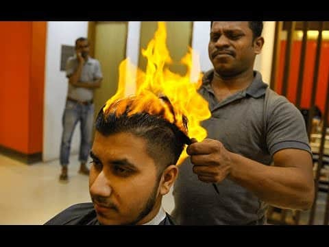 A Fire Haircut 11
