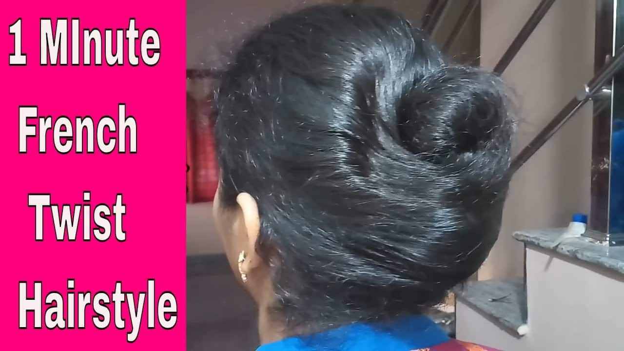 French Twist || French Roll || French Bun Hairstyle || Twist Hairstyles 2018 11