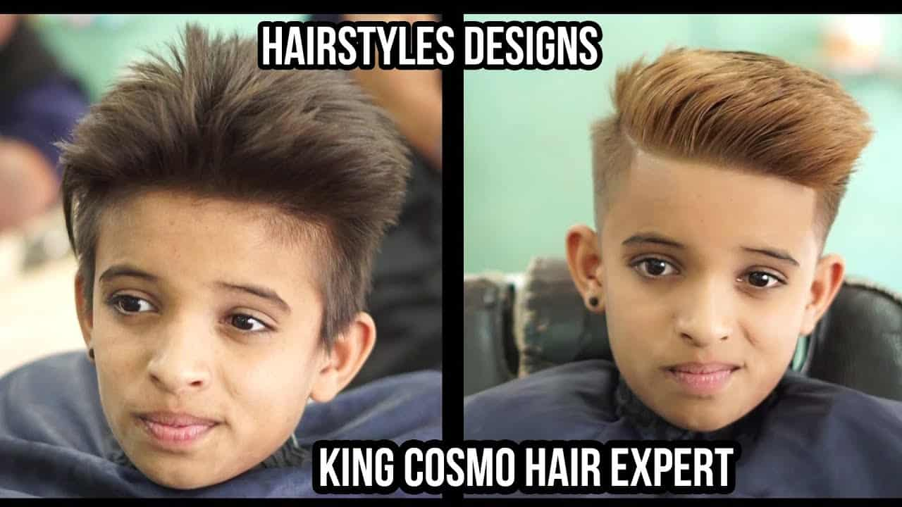 Hairstyles Designs And Ideas For Men 2018 | Attractive Haircuts for Boys | king cosmo hair expert 13
