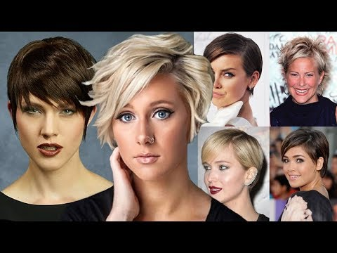Incredibly Short Haircuts! The Most Beautiful Short Hairstyles You can see! 14