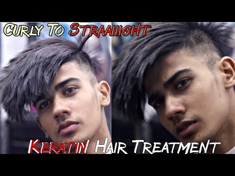 Keratin Hair Treatment Men | Total Hair Transformation | High Fade Haircut Men 16