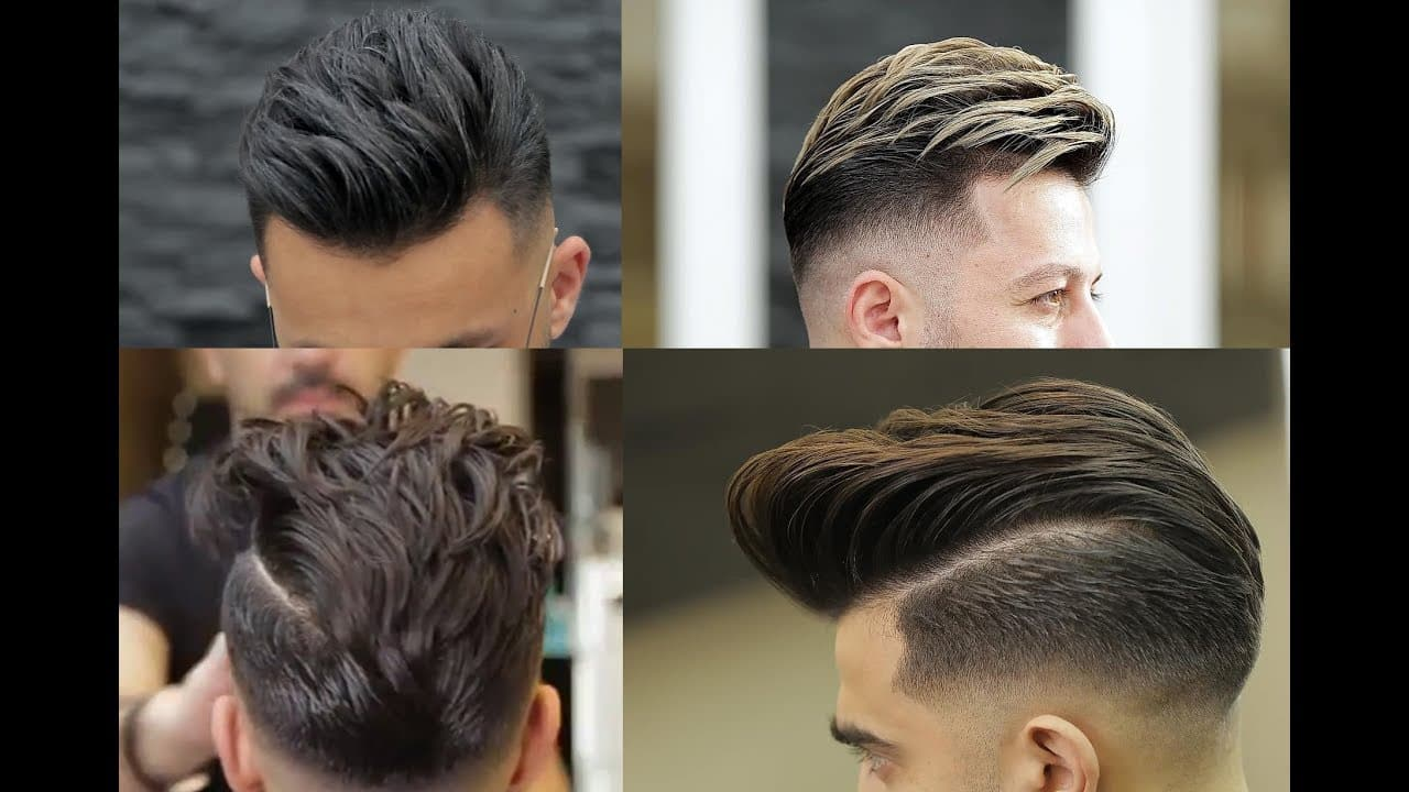 Men's New Stylish , Sexiest Hairstyles 2018 13