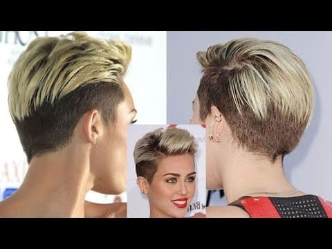 Pixie Short Back Undercut Hairstyles & Very Short Hair Cut Ideas 12
