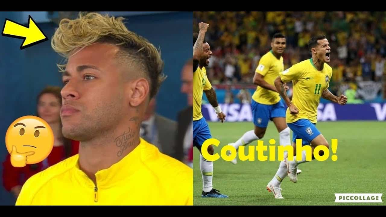 PLAYERS REACTION TO BRAZIL VS SWITZERLAND 1-1 WORLD CUP 2018 FT. NEYMAR & COUTINHO 10