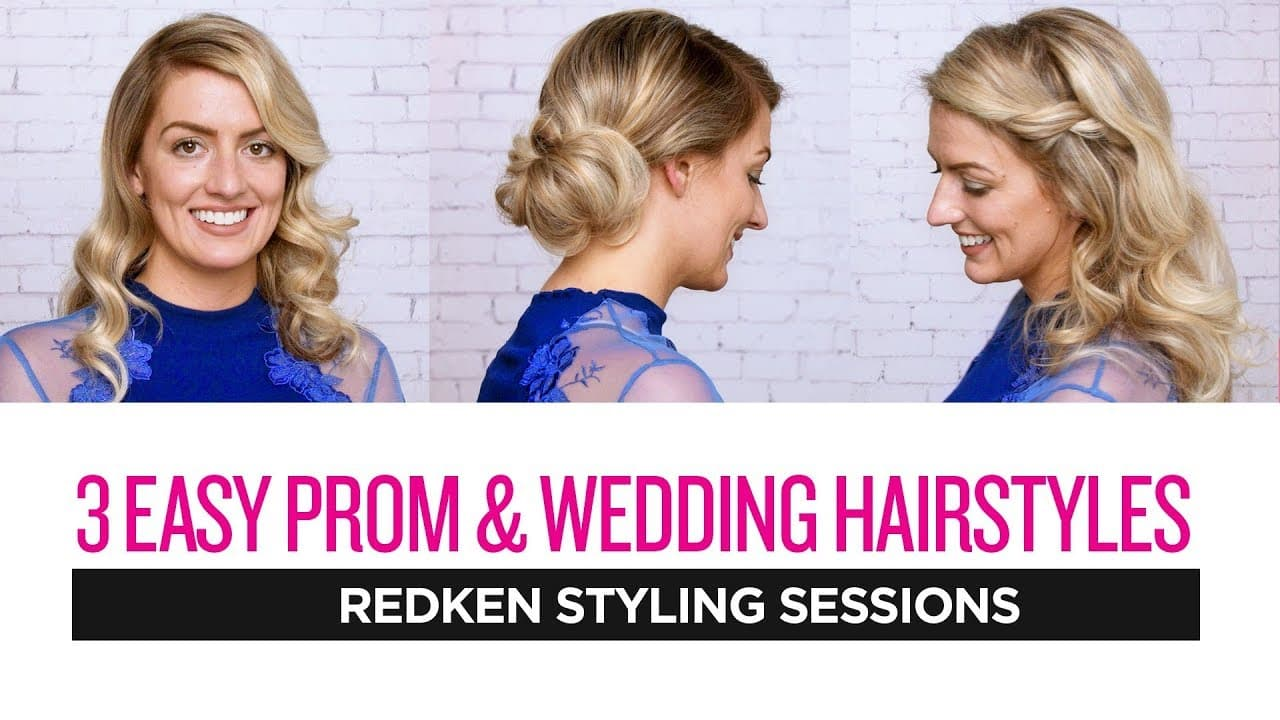 Redken Styling Sessions: 3 Easy Prom and Wedding Hairstyles 14