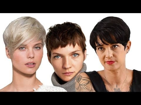 Short Pixie Haircuts for Women Over 40 to 60 17