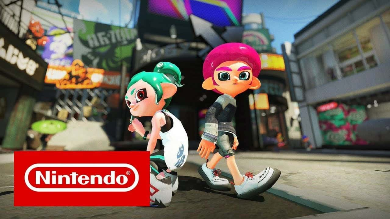 Splatoon 2: Octo Expansion Gameplay - Rotating Level & NEW Octoling Hairstyles Nintendo Switch HD 13