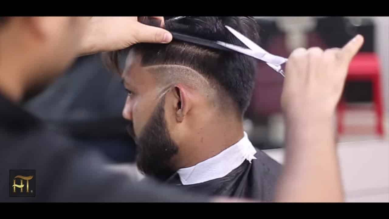 Summer Hair Cut 2018 || Beard Styling 12