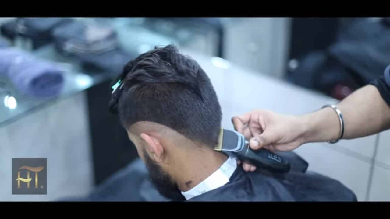 Virat kohli | Hair Style | Men's Hairstyle Side Swept Part 2018 15