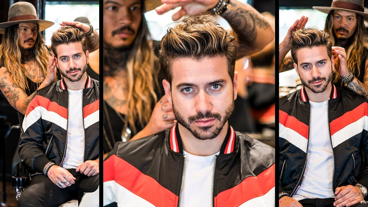 AWESOME Volume Quiff | Mens Haircut and Hairstyle 2018 | BluMaan 2018 13